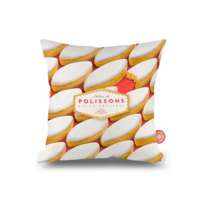 法國麥卡諾茲-靠墊(白色餅乾)-含芯