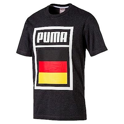 PUMA-足球系列國旗短袖T恤-德國(M)