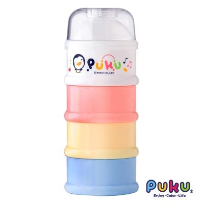 PUKU藍色企鵝 四層奶粉盒