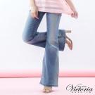 Victoria Victoria彩鑽大喇巴褲-女-淺藍