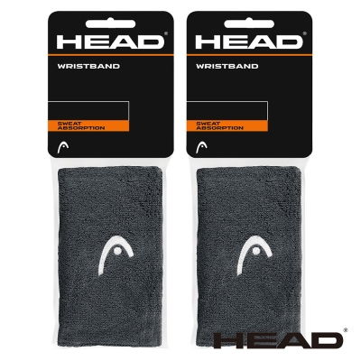 HEAD 5吋加長腕帶/運動護腕(2組)-多色任選 285065