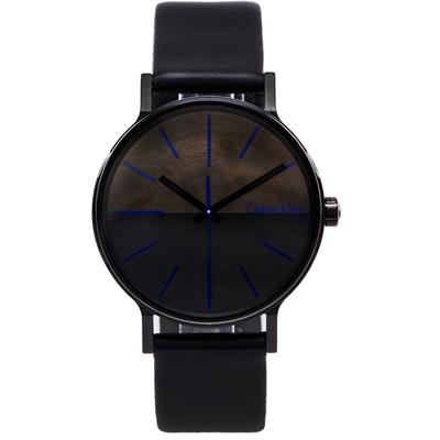 CK Calvin Klein Boost 簡約時尚款手錶-灰與黑面/41mm