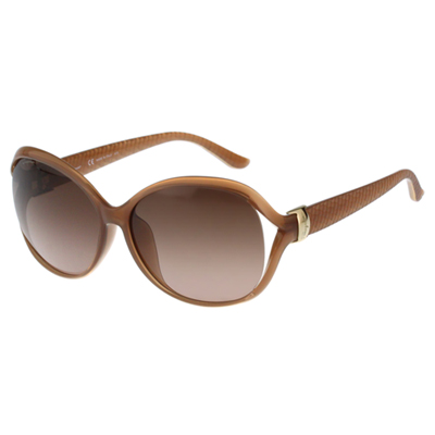Salvatore Ferragamo- 時尚太陽眼鏡(咖啡色)