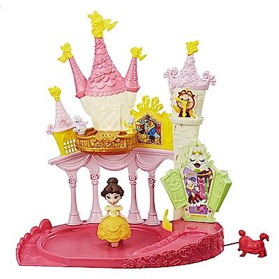 迪士尼公主系列 - 迷你公主轉轉樂園貝兒城堡