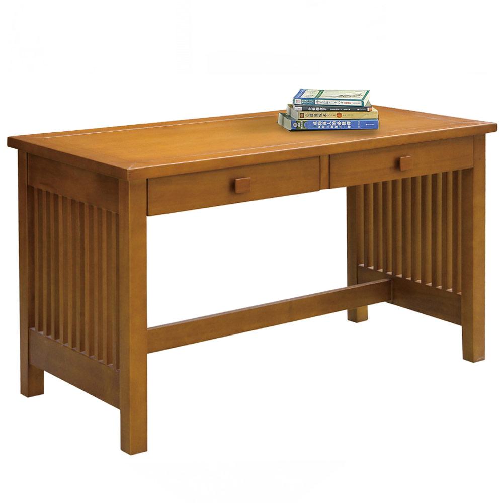 AT HOME - 蒂娜4尺柚木書桌 126x60x74cm