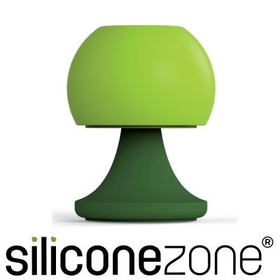 Siliconezone 施理康矽膠創意小檯燈鹽罐/胡椒罐-綠色