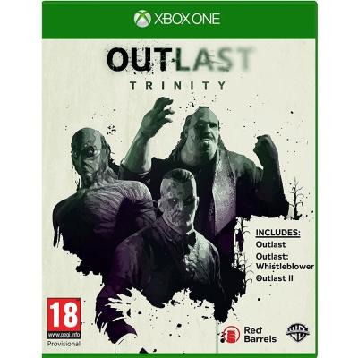 絕命精神病院:三重包 Outlast Trinity-XBOX ONE 英文歐版