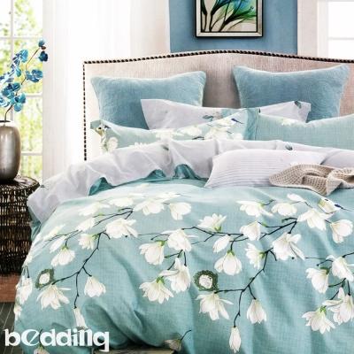 BEDDING-100-棉床包被套四件組-加大-翠
