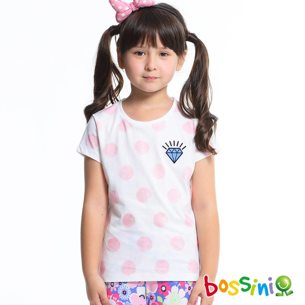 bossini女童-印花短袖T恤04珍珠白