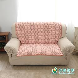 格藍傢飾 北歐風幾何沙發墊 1人座-楓葉咖