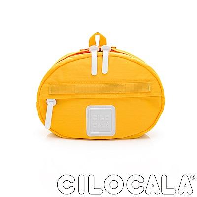 CILOCALA 亮彩尼龍防潑水TAMAGO側背包  黃色