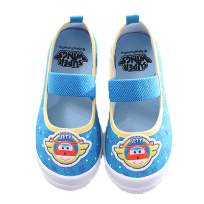 super wins幼兒園帆布鞋 藍 sk0025
