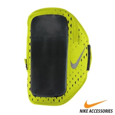 NIKE 手機萬用臂包(5.5吋手機通用) (黃/銀)
