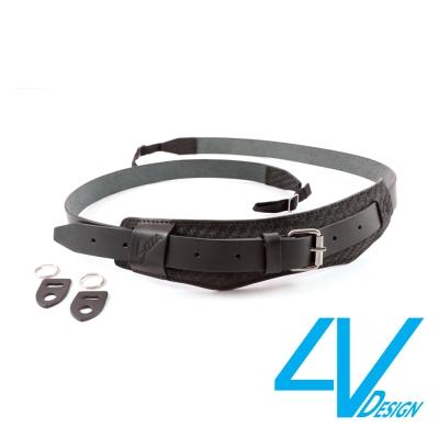 4V SELLA系列相機背帶 LU-KV0909-黑/黑色(L)