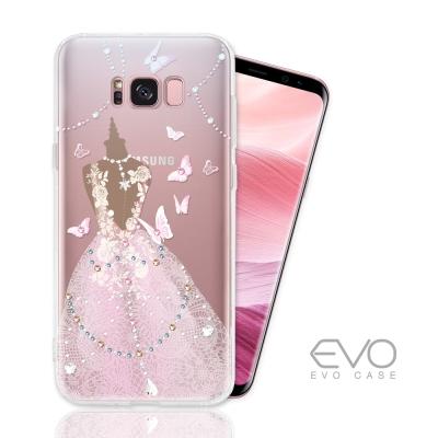 EVO CASE 三星 SAMSUNG S8 奧地利水晶彩繪防摔手機殼-多鑽版-...