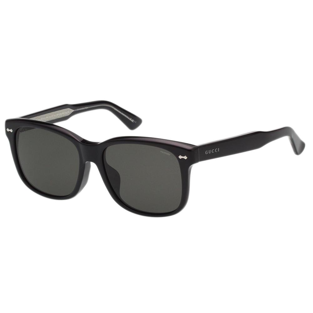 GUCCI- 中性款 太陽眼鏡 (黑色)