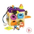 美國【B.Toys】毛小孩寵物診所