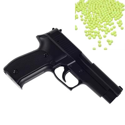 台灣製外銷版 P226加重版6mm彈徑手拉空氣BB槍+0.12G高精密研磨 BB彈