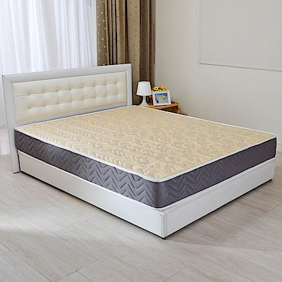 LooCa 蜂巢透氣圍邊獨立筒床墊-單人