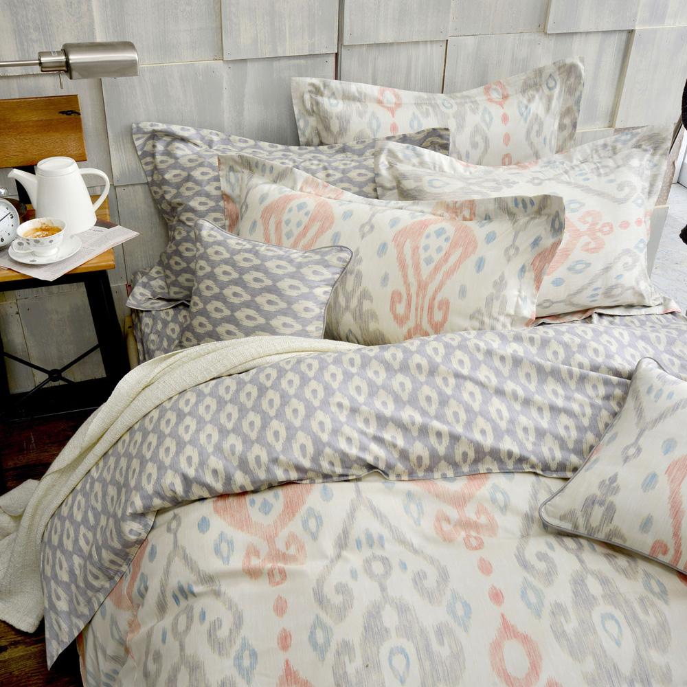 MONTAGUT-魯本斯印象-精梳棉-加大四件式薄被套床包組