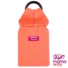 Mamaway 水洗色超柔軟純色育兒揹巾(木瓜牛奶橘)
