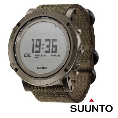 【SUUNTO】ESSENTIAL SLATE 不鏽鋼電腦腕錶/編織錶帶_石板色