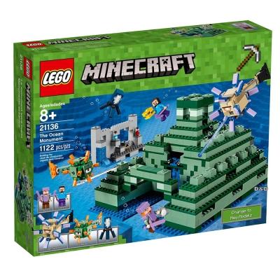 樂高LEGO 當個創世神系列 - LT21136 The Ocean Monu