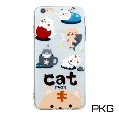 PKG Apple IPhone 6S Plus 彩繪空壓氣囊保護殼-浮雕彩繪-...