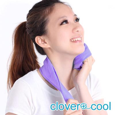 【夏日優惠3件組】Clover瞬間涼感多用途冰涼巾(小領巾)-共5色