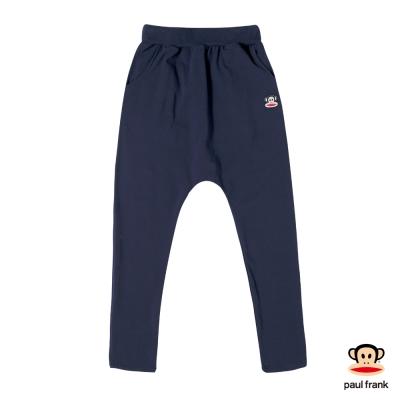 PAUL FRANK-彈性超飛鼠褲設計造型長褲-深藍(女)
