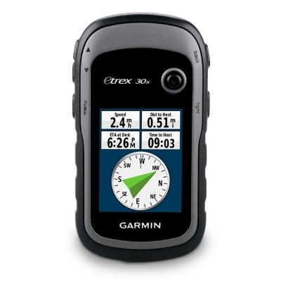 GARMIN eTrex 30x 掌上型GPS衛星導航儀(登記送16G記憶卡 點選下方連結)