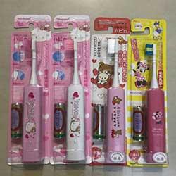 日本製 Kitty 兒童電動牙刷