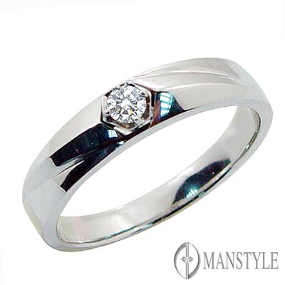 MANSTYLE DIAMOND「今生相伴」0.08ct 八心八箭鑽戒