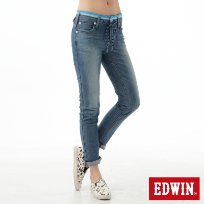 EDWIN女迦績褲JERSEYS涼感牛仔褲