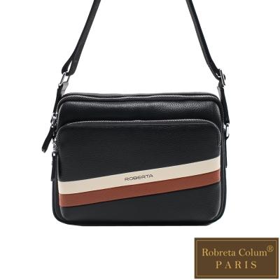 Roberta Colum - 極簡雅痞款休閒橫式側背包