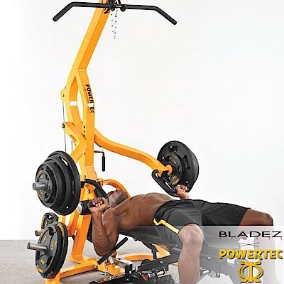 【BLADEZ】POWERTEC-WB-LS16-BB-多功能重量訓練床(全黑)