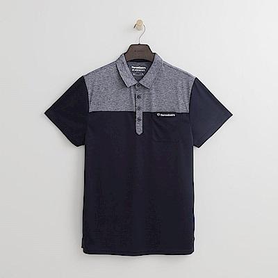 Hang Ten - 男裝 - Thermo Contro多性能POLO衫-深藍色