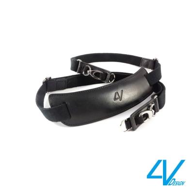 4V LUSSO LARGE TOP系列相機背帶VB2LTL09-黑/黑色