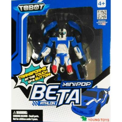 任選 TOBOT 機器戰士 MINI POP BETA ENG原廠公司貨YT01063