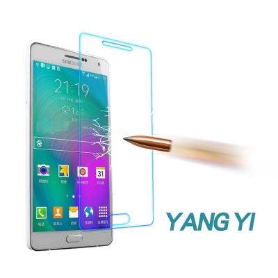 YANG YI 揚邑 Samsung Galax A7 防爆防刮防眩弧邊9H鋼化...