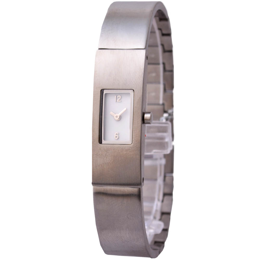 MORGAN 極簡洗鍊個性腕錶-白/12mm
