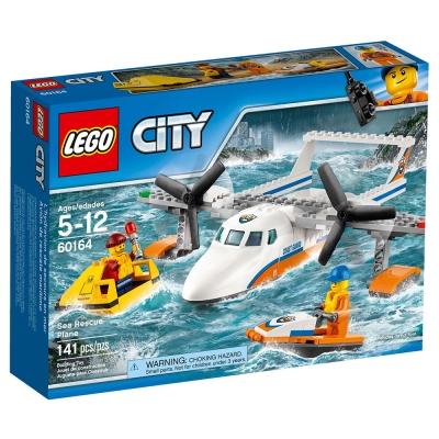 LEGO樂高 城市系列 60164 海岸巡防救援飛機