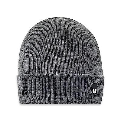 101原創 馬來貘針織毛線帽-中麻灰