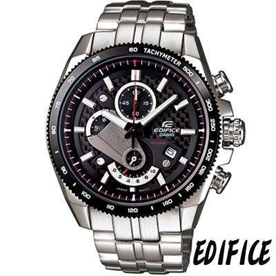 EDIFICE 獨特齒輪概念設計款(EFR-513SP-1A)-黑/45.4mm