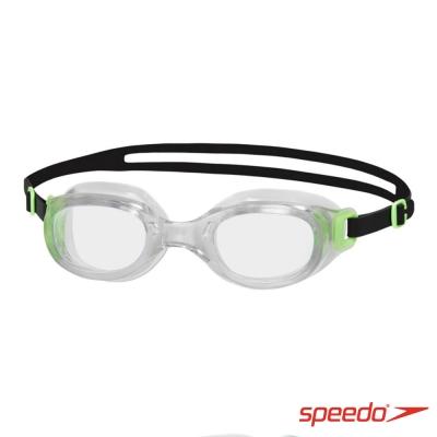 SPEEDO 成人 泳鏡 Futura Classic 綠-透明