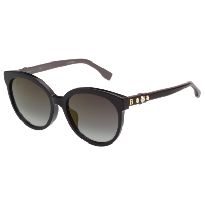 FENDI  貓眼 太陽眼鏡 (黑色)FF0268FS