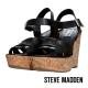 STEVE MADDEN--楔型厚底涼鞋-百