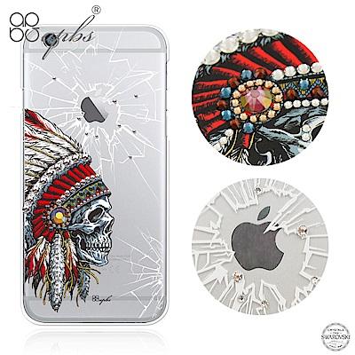 apbs iPhone6s/6 Plus 5.5吋 施華洛世奇彩鑽手機殼-酋長