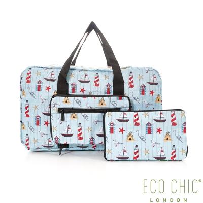 英國ECO CHIC時尚旅行袋-海洋
