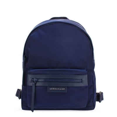 Longchamp Le Pliage Neo 厚尼龍後背包(小)-深藍色